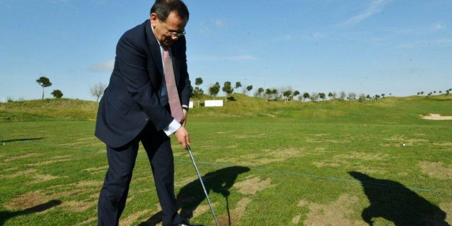 """Başkan Demir: """"Golf tesisi müthiş bir proje"""""""