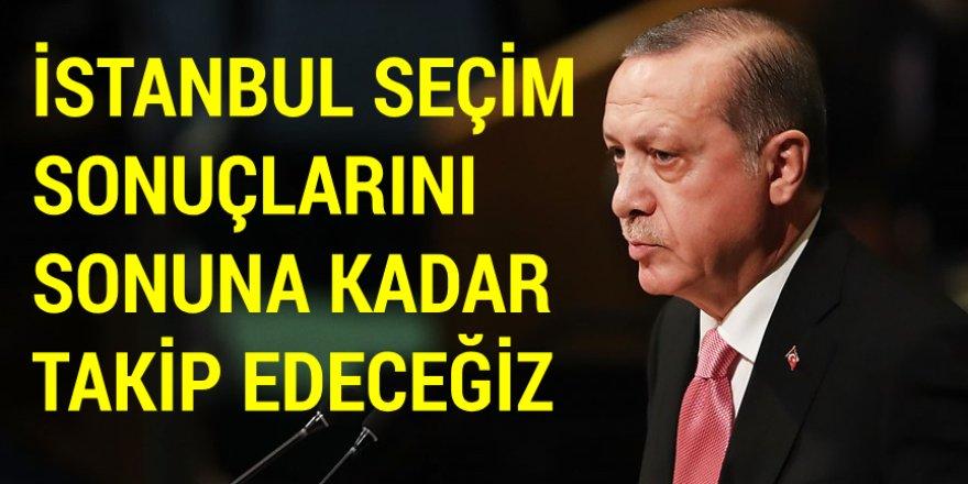 Cumhurbaşkanı Erdoğan, AK Parti kampında kürsüye çıktı