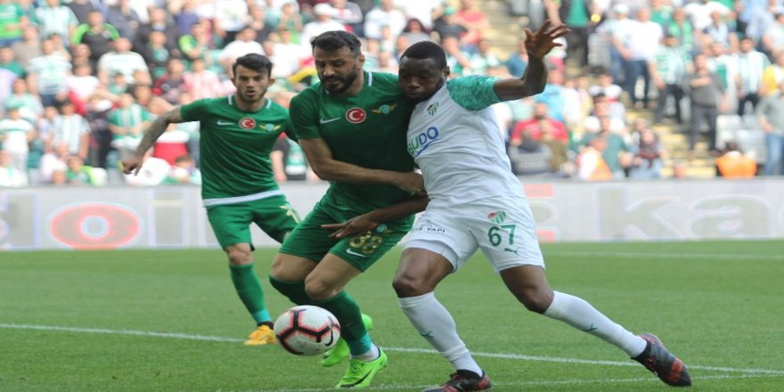 Süper Lig: Bursaspor: 0 - Akhisarspor: 0