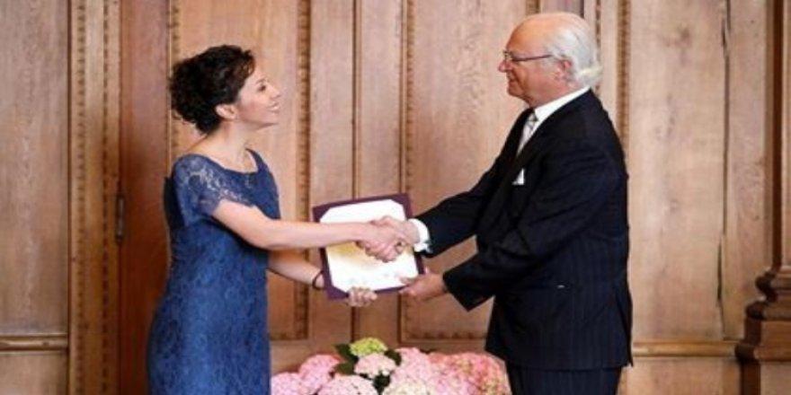 Türk bilim insanı Zora, İsveç Büyükelçi Yunt'u ziyareti