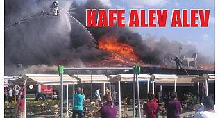 Yasemin Kafe böyle yandı